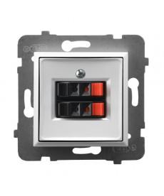ARIA Gniazdo głośnikowe podwójne Ref_GG-2U/m/00