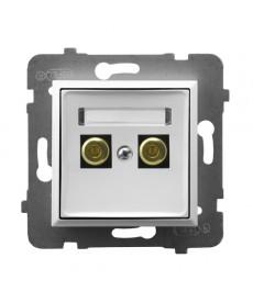 ARIA Gniazdo głośnikowe pojedyncze Ref_GGN-1U/m/00