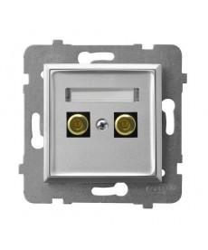 ARIA Gniazdo głośnikowe pojedyncze Ref_GGN-1U/m/18