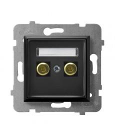 ARIA Gniazdo głośnikowe pojedyncze Ref_GGN-1U/m/33