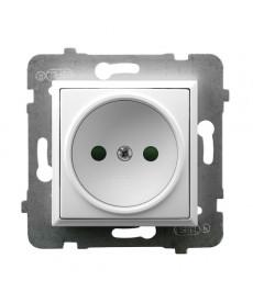 ARIA Gniazdo pojedyncze z przesłonami torów prądowych Ref_GP-1UP/m/00