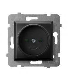 ARIA Gniazdo pojedyncze z przesłonami torów prądowych Ref_GP-1UP/m/33
