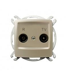 KARO Gniazdo RTV przelotowe 10-dB Ref_GPA-10SP/m/42