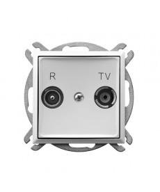 ARIA Gniazdo RTV przelotowe 10-dB Ref_GPA-10UP/m/00