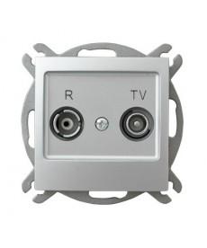 IMPRESJA Gniazdo RTV przelotowe 10-dB Ref_GPA-10YP/m/18