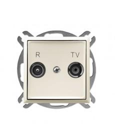 ARIA Gniazdo RTV przelotowe 14-dB Ref_GPA-14UP/m/27