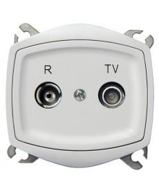 TON COLOR SYSTEM Gniazdo RTV przelotowe 16-dB Ref_GPA-16CP/m/00