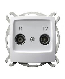 KARO Gniazdo RTV przelotowe 16-dB Ref_GPA-16SP/m/00