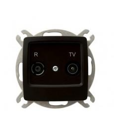 KARO Gniazdo RTV przelotowe 16-dB Ref_GPA-16SP/m/40