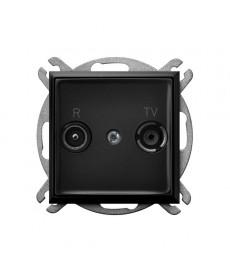 ARIA Gniazdo RTV przelotowe 16-dB Ref_GPA-16UP/m/33