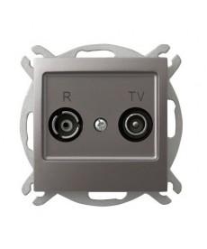 IMPRESJA Gniazdo RTV przelotowe 16-dB Ref_GPA-16YP/m/23