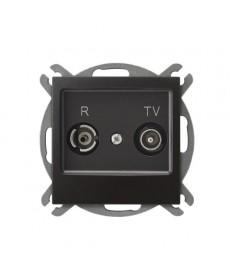 IMPRESJA Gniazdo RTV przelotowe 16-dB Ref_GPA-16YP/m/50