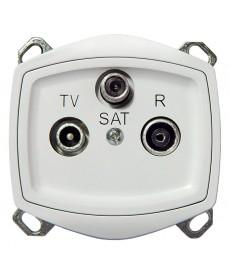 TON COLOR SYSTEM Gniazdo RTV-SAT Ref_GPA-CSP/m/00