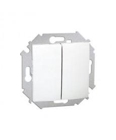 Łącznik świecznikowy (moduł) 10ax 250v biały 1591398-030 simon15 kont