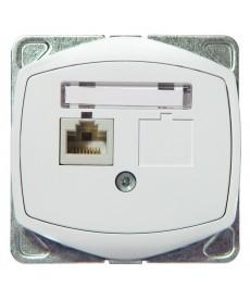 TON COLOR SYSTEM Gniazdo komputerowe pojedyncze, kat. 5e MMC Ref_GPK-1C/K/m/00