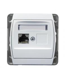 GAZELA Gniazdo komputerowe pojedyncze, kat. 6 ekranowane MMC Ref_GPK-1J/K6E/m/00