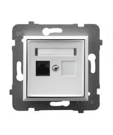 ARIA Gniazdo komputerowe pojedyncze, kat. 5e MMC Ref_GPK-1U/K/m/00
