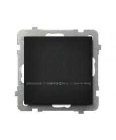 SONATA Łącznik kontrolny z podświetleniem niebieskim Ref_ŁP-12RS/m/33