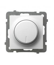 AS Ściemniacz przyciskowo-obrotowy przystosowany do obciążenia żarowego i halogenowego Ref_ŁP-8G/m/00