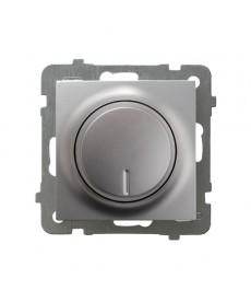 AS Ściemniacz przyciskowo-obrotowy przystosowany do obciążenia żarowego i halogenowego Ref_ŁP-8G/m/18