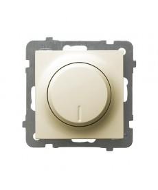 AS Ściemniacz uniwersalny do obciążenia żarowego, halogenowego oraz LED Ref_ŁP-8GL2/m/27