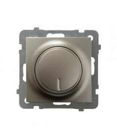 AS Ściemniacz uniwersalny do obciążenia żarowego, halogenowego oraz LED Ref_ŁP-8GL2/m/45