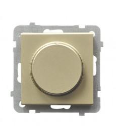 SONATA Ściemniacz uniwersalny do obciążenia żarowego, halogenowego oraz LED Ref_ŁP-8RL2/m/39