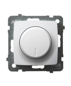 KARO Ściemniacz przyciskowo-obrotowy przystosowany do obciążenia żarowego i halogenowego Ref_ŁP-8S/m/00