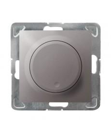 IMPRESJA Ściemniacz przyciskowo-obrotowy przystosowany do obciążenia żarowego i halogenowego Ref_ŁP-8Y/m/23