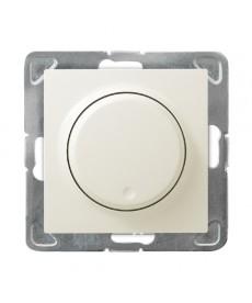 IMPRESJA Ściemniacz przyciskowo-obrotowy przystosowany do obciążenia żarowego i halogenowego Ref_ŁP-8Y/m/27
