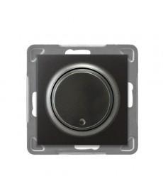 IMPRESJA Ściemniacz przyciskowo-obrotowy przystosowany do obciążenia żarowego i halogenowego Ref_ŁP-8Y/m/50