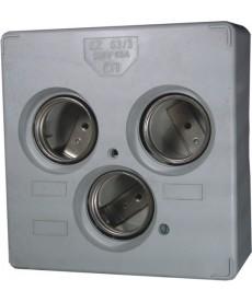GNIAZDO DIII EZV 63A/3POLOWE DELTA ETI 002322044