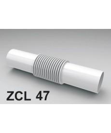 ZŁĄCZKA DO RURY PCV ZCL-47 BIAŁA