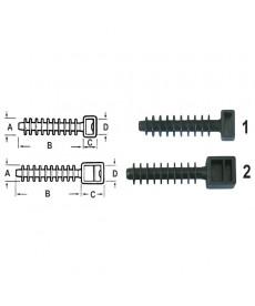 Kolek rozporowy do montowania opasek kabl. ø 10 x 37*