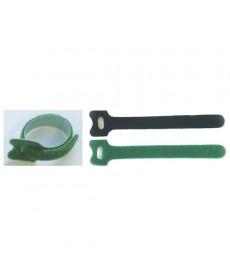 Opaska kablowa na rzepe zielona 180 x 12mm*