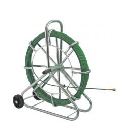 Wciagarka do kabli wersja stojaca na kólkach SIX 80 m ø 6 mm