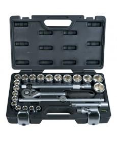 Zestaw kluczy nasadowych 25-elem.*
