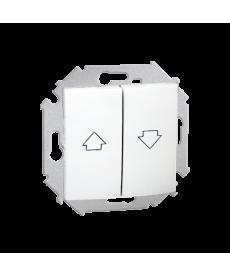 Łącznik żaluzjowy biały 1591332-030 simon15 kontakt