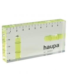 Poziomica akrylowa HUP Mini 100x50x15