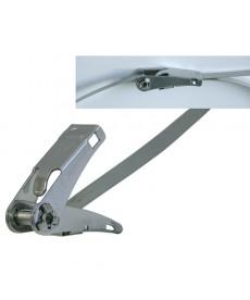 Opaska stalowa 1100x10 mm z funkcja grzechotki
