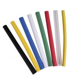 Weze termokurczliwe 2:1 6,5-3,0 1,2 m zólto/zielony