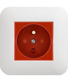 Gniazdo typu Data z z blokadą torów prądowych + klucz uprawniający KOS COSMO 300443