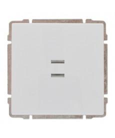 Łącznik pojedynczy podświetlany z klawiszem bez ramki KOS KOS 66 620411