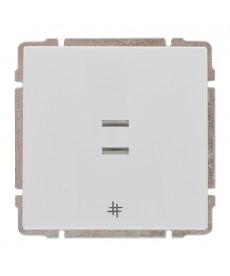 Łącznik krzyżowy podświetlany z klawiszem bez ramki KOS KOS 66 620417