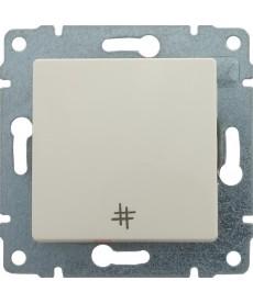 Łącznik krzyżowy z klawiszem bez ramki KOS VENA 510317