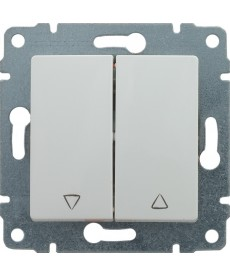 Przycisk żaluzjowy z klawiszem bez ramki KOS VENA 510418