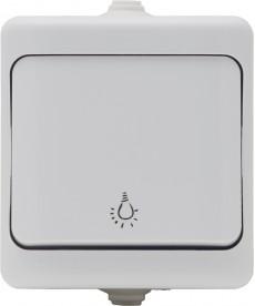 Przycisk światło IP44 KOS BRYZA 180403