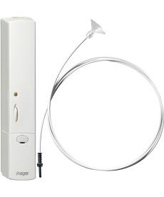 KNX RF natynkowy czujnik natężenia oświetlenia quicklink, biały