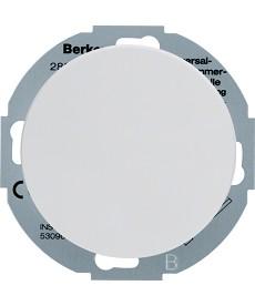 R.classic Rozszerzenie ściemniacza uniwersalnego z płytką czołową, biały