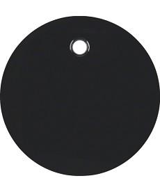 R.1/R.3 Płytka czołowa do łącznika cięgłowego, czarny, połysk